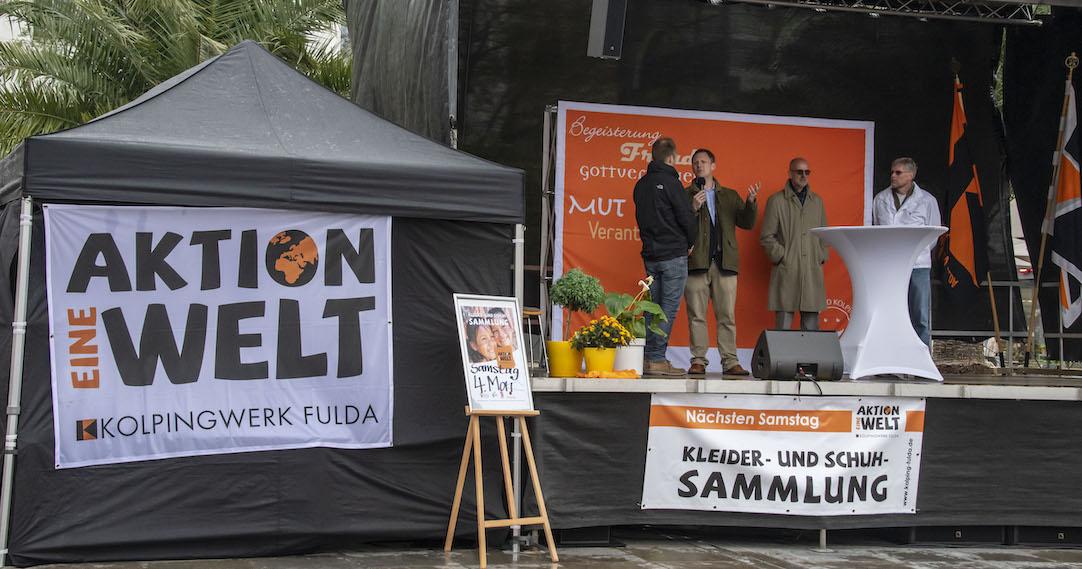 """Erfolgreicher 2. Aktionstag Eine Welt des Kolpingwerks Fulda - """"Es gibt nichts Gutes, außer man tut es!"""""""